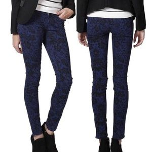 PAIGE Verdugo Ultra Skinny Floral Jeans